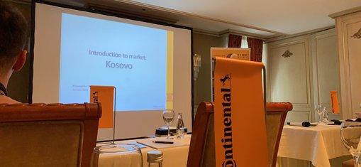 Simpoziumi i gomave të automjeteve pasagjerëve në Kosovë nga Continental